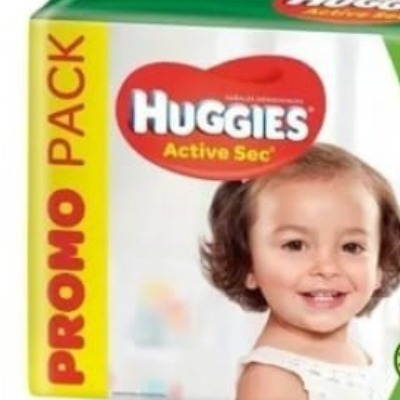Pañal Huggies Active Sec Familiar Gx68